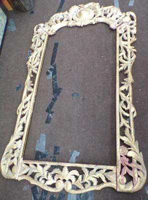 6ft x 4ft ornate picture frame - needs attention