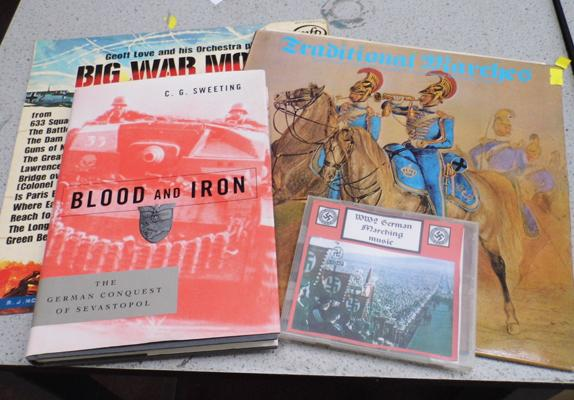 2 x vinyl records + Blood & Iron book with German CD