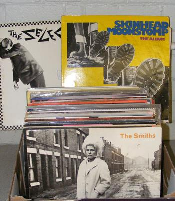 "Box of mainly 1980's LPs & 12"" records"