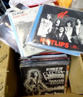 Box of records, Glam Rock