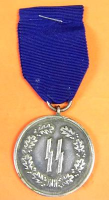 Nazi SS 4 year service medal
