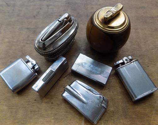 Collection of vintage lighters incl. Ronson, Colibri etc.