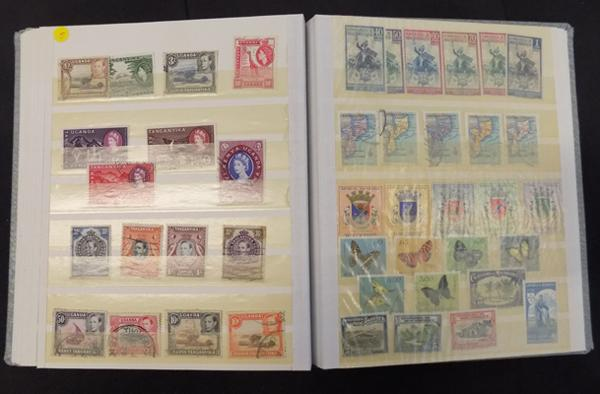 Stockbook containing commonwealth/ World stamps