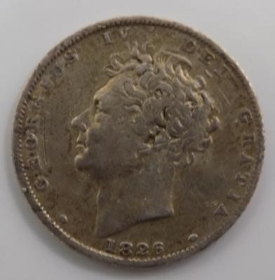 1826 6d (sixpence)
