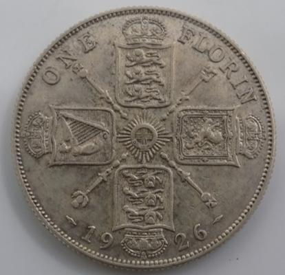 1926 two shilling/florin