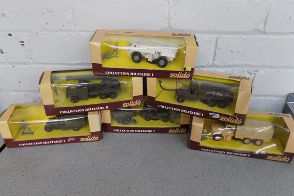 6x Solido military - all boxed