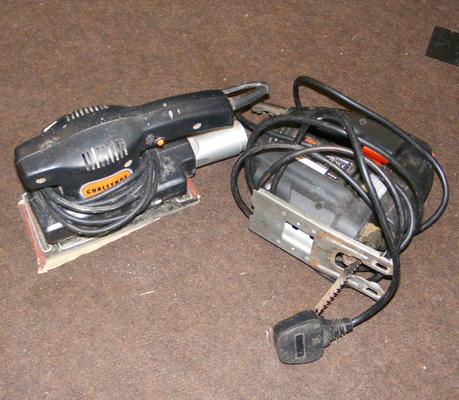 Hickes electric jigsaw & sheet sander