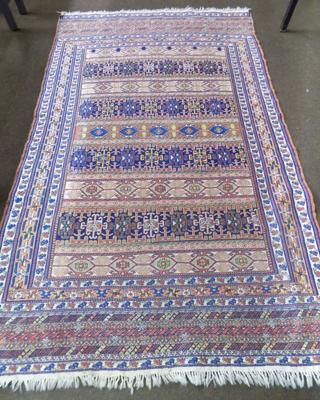 "Large Aztec rug - approx. 52"" x 82"" - good condition"
