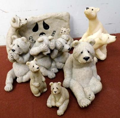 Assortment of 'Quarry Critters' figures