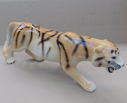 "1970's tiger - approx. 18"" long"