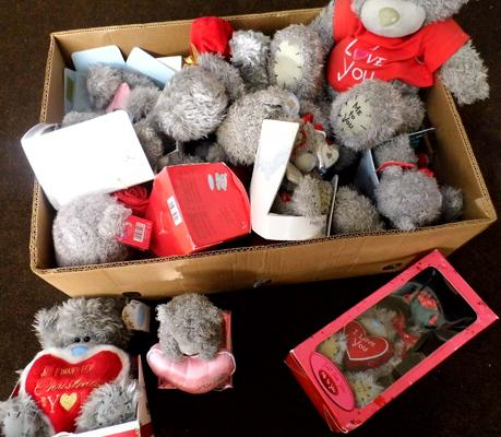 Large box of 'Me to You' bears