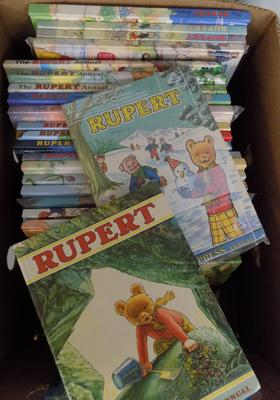 25+ Rupert Annuals and books