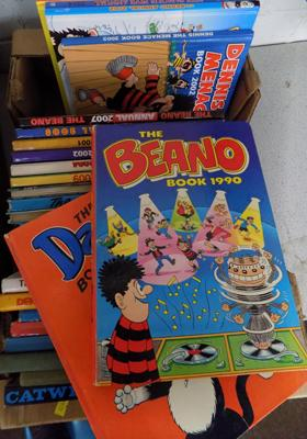 25+ Beano, Dandy, Boys Cinema (from 1950's) and Catweazle Annuals