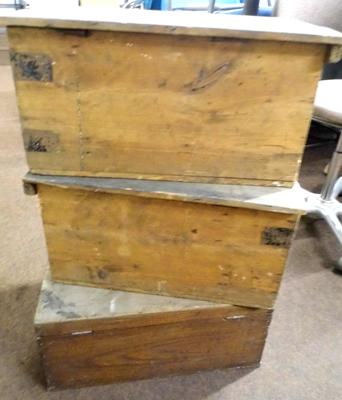 3x Joiners vintage boxes