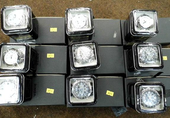 9x Mixed Weide sports watches