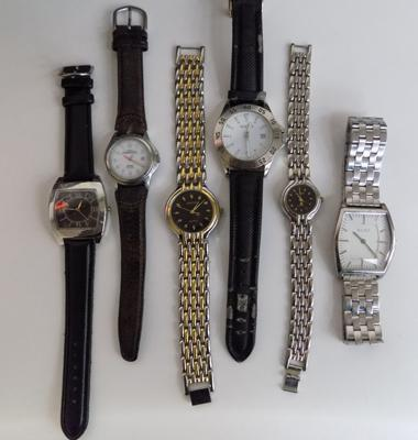 Collection of 6 watches-5x gents + 1x ladies