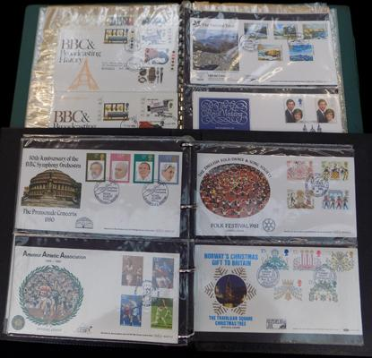 2x Albums of first day covers, Benham etc