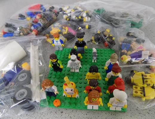 Collection of Lego figures & others