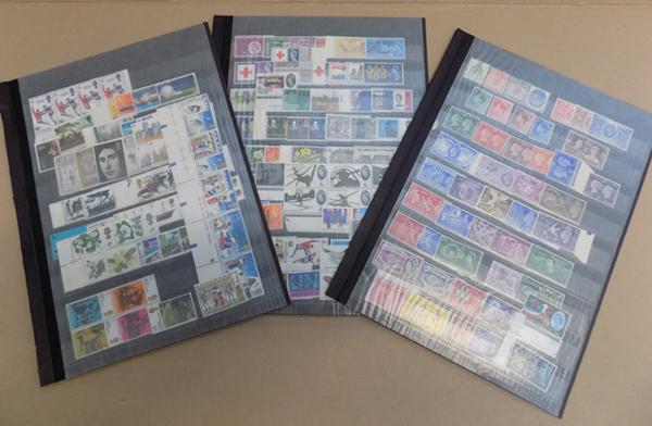 Selection of stamps incl. GB/QE - good range of sets, majority unmounted mint
