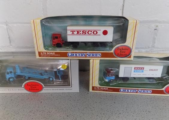 3x Exclusive First Edition trucks-boxed