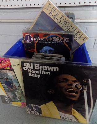Approx 70 reggae & soul records-some rare