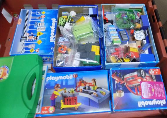 Large assortment of Playmobile