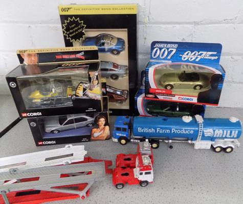Collection of Corgi diecast