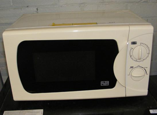 Microwave oven w/o