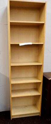 Tall adjustable bookshelf approx 80 inches tall