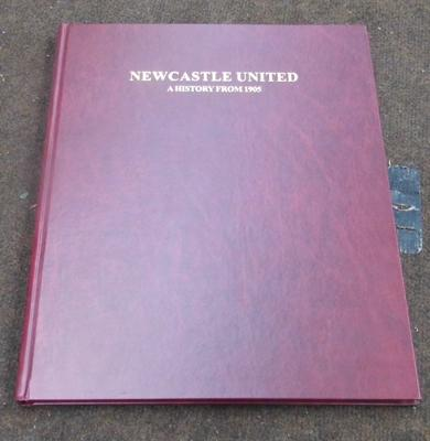 Newcastle Utd  'A History from 1905' book