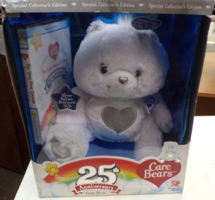 Boxed Care Bears 25th anniversary with DVD