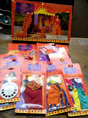 Large assortment of Disney Hunchback of Notre Dame items