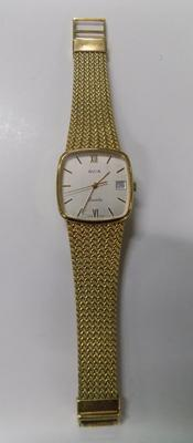 Gent's 14ct gold plated Avia watch