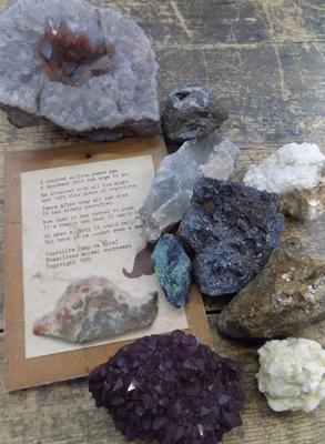 Collection of crystal rocks etc...