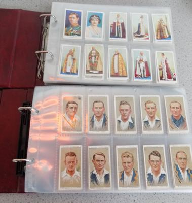 2x Albums of cigarette cards
