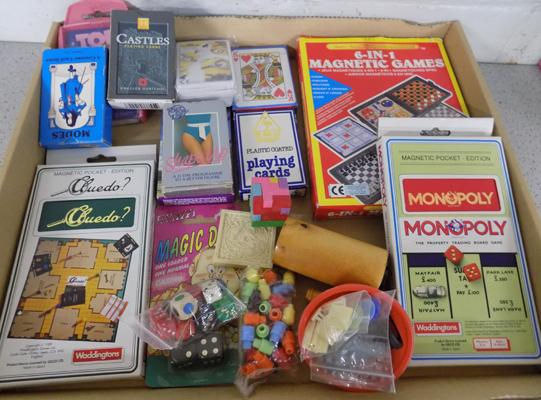 Assortment of vintage games/cards etc...