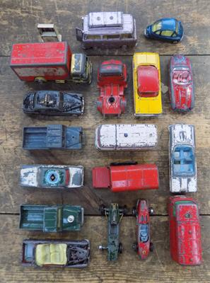 Selection of Corgi diecast vehicles
