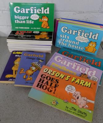 Collection of Garfield books