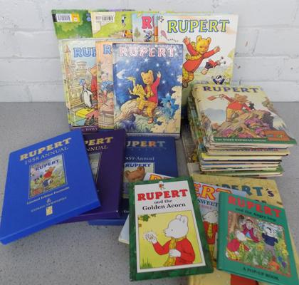 Large selection of Rupert annuals - very good condition