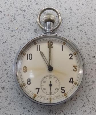 WWII General Service time-piece pocket watch