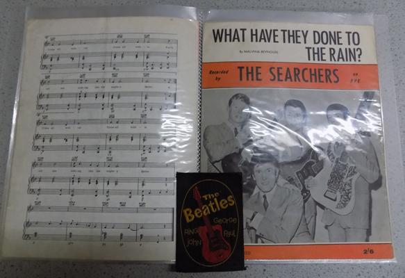 Sheet music - Beatles & the big three - e.g .The Hollies etc... (29 sheets in total)