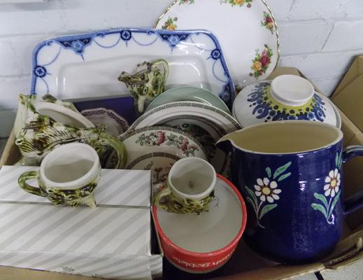 Mixed items incl. collectables & antiques
