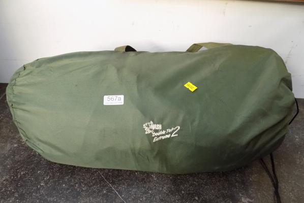 Double camping airbed & pump-no leaks