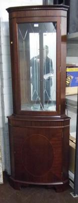 Glass topped display cabinet