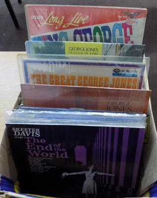 Box of mainly 1960's LPs