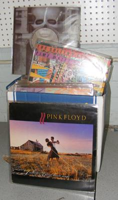 Approx. 65 records incl. Pink Floyd, Stones, ELP, Jam, Who, Hendrix, Yardbirds etc.