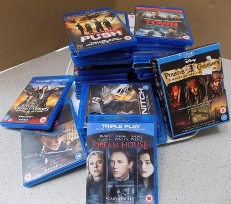 29 Blu-Ray DVDs & one box set