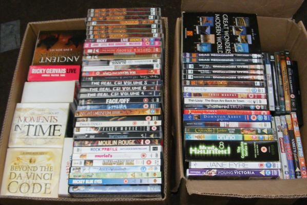 Large collection of DVD's