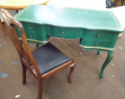 French style working desk & chair