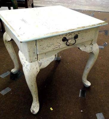 Shabby chic small table